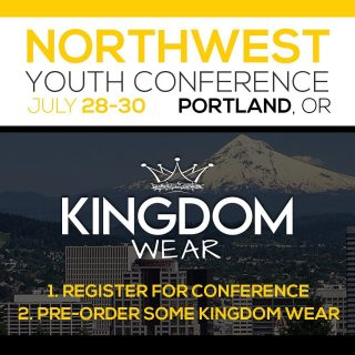 Excited to be going to @nwyouthconference  this Year!!!  If you would like to pre-order, use code: nw21 and you can pickup your order at the conference.  Note: If You Use This Code, Your Item will not be shipped it will be ready for pickup at Conference. If you would like it shipped, use code: kw20.  #nwyc2021 #nwyouthconference2021 @nwyouthconference @thekingdomwearbrand   #thekingdomwear